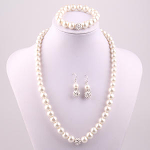 Top 10 Largest Cream Pearl Necklace Set List