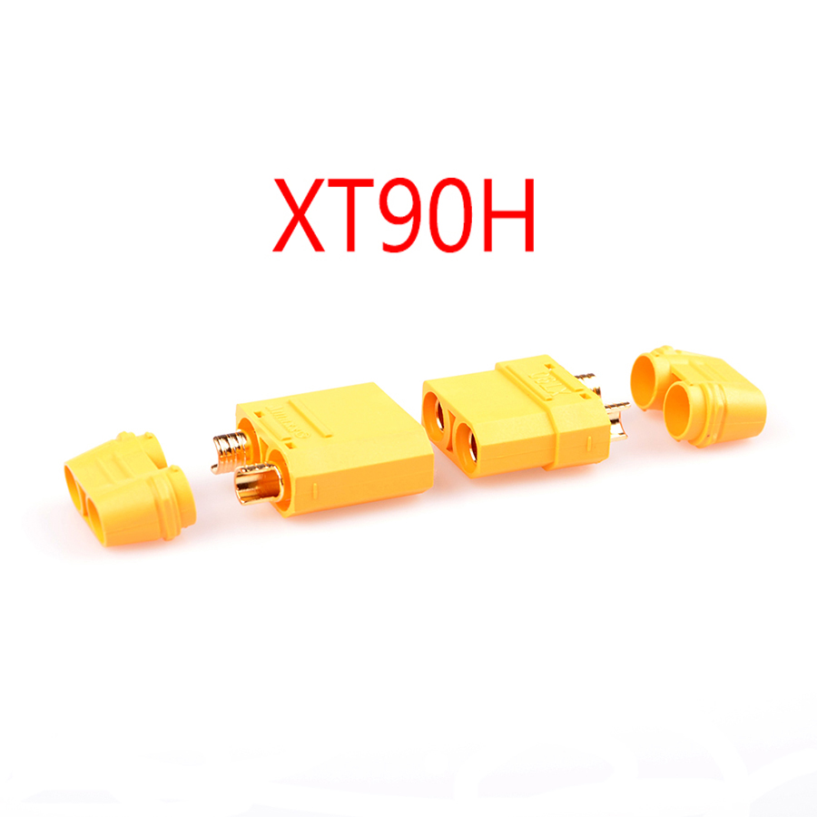 10 пар Amass XT30 XT60 XT90 XT-30 XT-60H мужской женский пули Разъемы набор пробок Запчасти для RC Lipo батареи FPV Дрон - Цвет: XT90H 10 Pairs