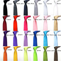 Homens da moda Laços para o Casamento Estreito Skinny Gravata Feminino Cor Sólida de Poliéster Laços para Homens Gravata Gravata Gravata Fina Gravata