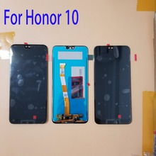 Pantalla Original con huella digital para Huawei Honor 10 COL L29 pantalla LCD Honor10 + reemplazo de montaje de digitalizador con pantalla táctil