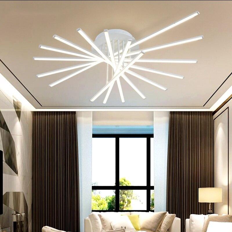 Art Deco LED Ceiling lamps Living Room Bedroom Study Restaurant Light Commercial Lighting Ceiling Lights 110-240V