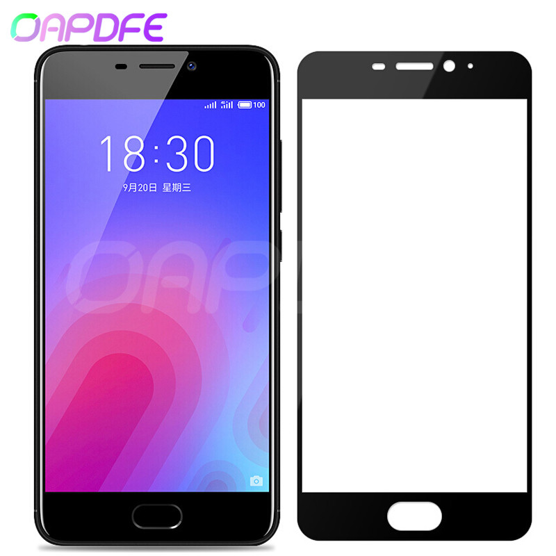 9D Protective Glass On The For Meizu M6 M6S M6T M5 M5S M5C M3 M3S Note Pro 6 6S 7 Plus Tempered Screen Protector Glass Film Case