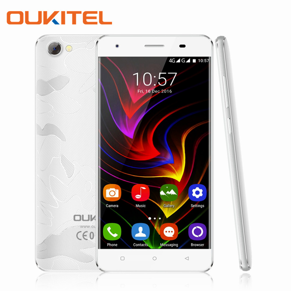 OUKITEL C5 Pro 5.0 Pulgadas Quad Core Smartphone 2 GB RAM 16 GB ROM MT6737 1280x