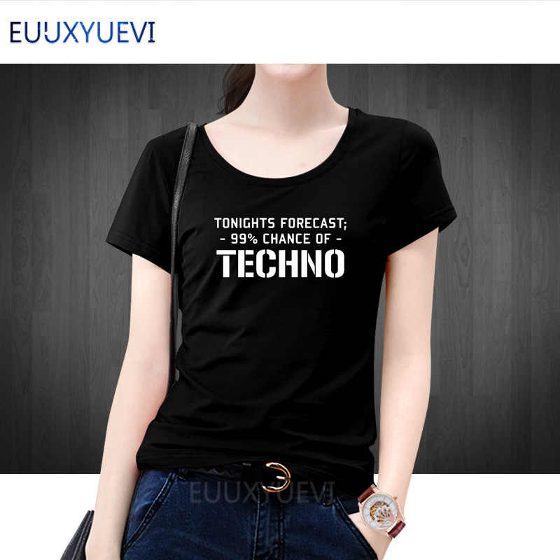 052a03fb07 Techno slogan printed women t-shirt forecast club dance music ibiza  festival tee shirt homme Cotton short sleeve t shirt