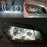 For BMW X1 E84 2010 2011 2012 2013 2014 Halogen headlight Perfectly compatible Ultra bright CCFL Angel Eyes kit halo rings