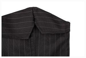 Image 3 - Sexy Corset Dress with Zipper Black stripes Shape Body Slim Bustiers Suit  Overbust Costume Burlesque Corsets Sexy Lingerie Plus