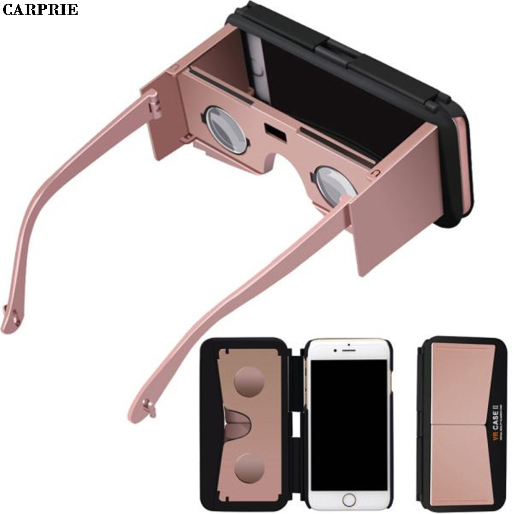CARPRIE Portable 3D VR Mobile Phone Case Virtual Reality Glasses for iPhone 6S Plus 5.5 Inch  for smartphones Drop Shipping