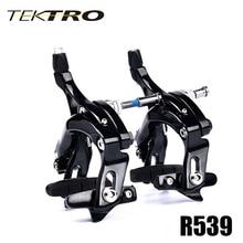 TEKTRO yol bisikleti R539 C fren kaliper hafif uzun kolu fren için tasarlanmış büyük lastik hızlı serbest bırakma emniyet kilidi 320 g/çift