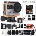 Original Action camera H8R waterproof camera sports DV 4k 25fps ultra hd Dual Screen remote control go pro style sports camera