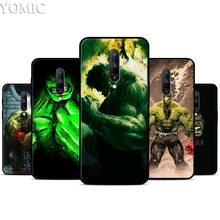The Incredible Hulk Silicone Case for Oneplus 7 7Pro 5T 6 6T Black Soft Case for Oneplus 7 7 Pro TPU Phone Cover