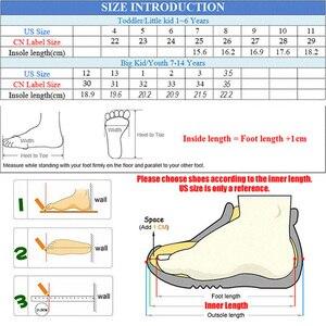 Image 5 - Pekny bosa marca meninos sapatos de lona descalço crianças sapatos meninas suficiente toe superior da criança sapatos para crianças menina tamanho grande 25 35