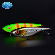 Colorful Handmade Jerk bait Fishing Lure Pencil Fishing Tackles 155MM 75G