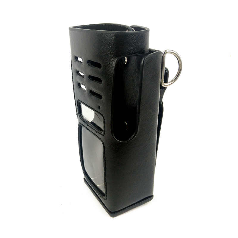 PU Lederen Tas Case voor Motorola GP338 GP360 GP380 HT1250 Walkie Talkie Walkie Talkie Hard Holster Beschermhoes