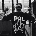 17 ДВОРЕЦ Футболки supremitied 100% хлопок мужчины хип-хоп скейтборд лето Высокое Качество женщины eisure Лето Дворец YEZZ НАМ T рубашка