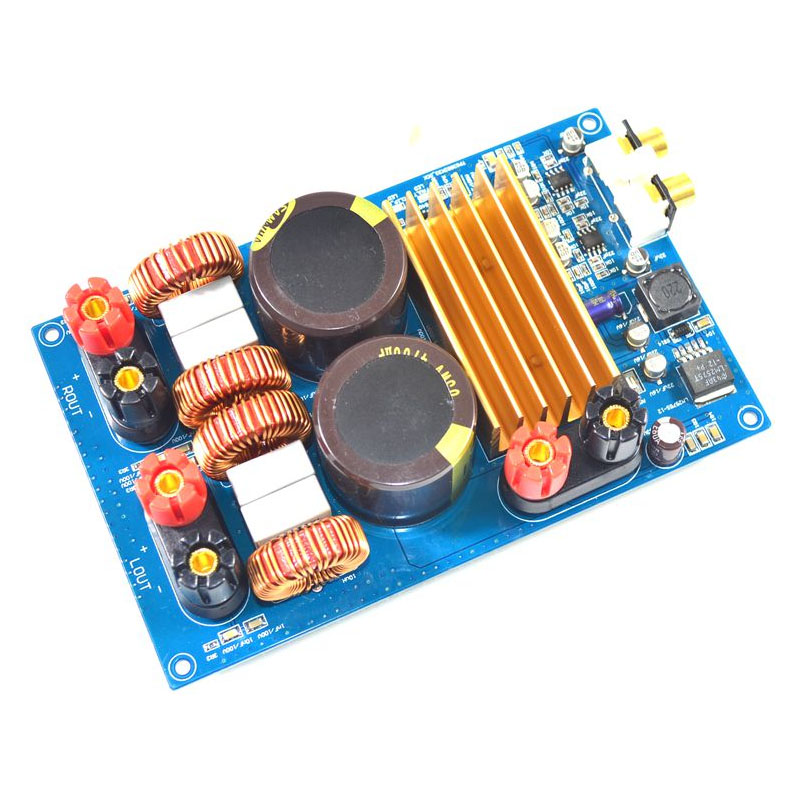 KYYSLB Klasse D power verstärker TPA3255 2,0 Digital Power Verstärker Bord 300W + 300W Original TPA3255 LM2575S-12