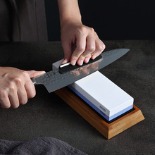XINZUO Pro bileme taşları çift taraflı 1000/6000 kum bileme değirmen taşı Whetstone bıçak bileyici mutfak aksesuarları