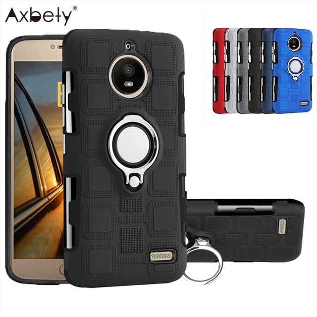 new product 93aa1 0957b US $3.62 10% OFF|AXBETY For MOTO e4 E4 Plus case silicon Protective Stand  Holder Case For moto E4 plus Combo Magnetic 360 Rotate Ring armor Cover-in  ...