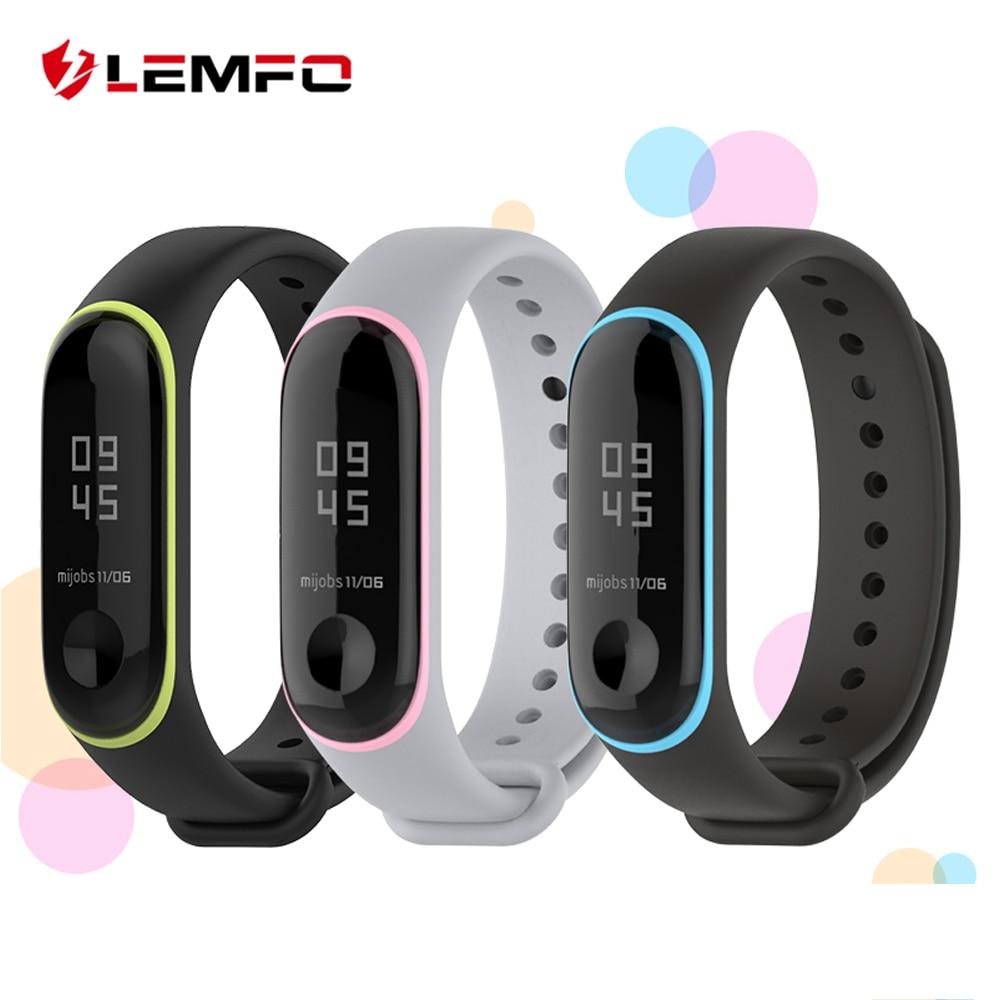 Intelligente Elektronik Lemfo Smart Band Zubehör Für Xiao Mi Mi Band 3 Strap-armband Silikon Doppel Farbe Sport Weichen Fitness Armband Ersatz Billigverkauf 50%