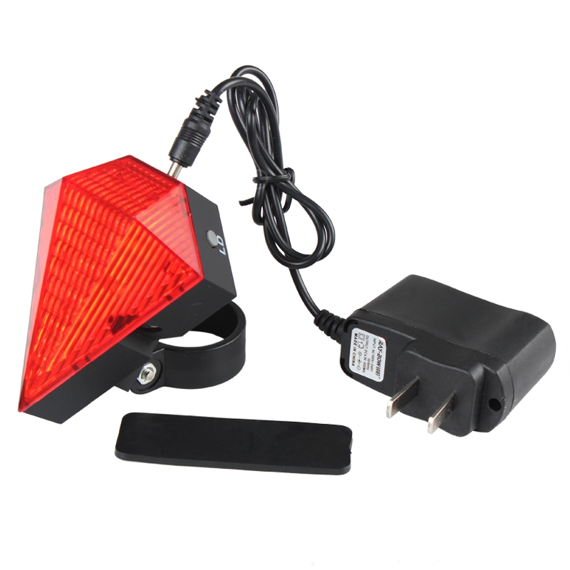 Lights & Lighting Led Bulbs & Tubes Adaptable Rechargeable Diamond Design Waterproof Bicycle Laser Tail Light Safety Warning With 9led+2laser 3 Modes Cycling Bike Rear Lamp Firm In Structure