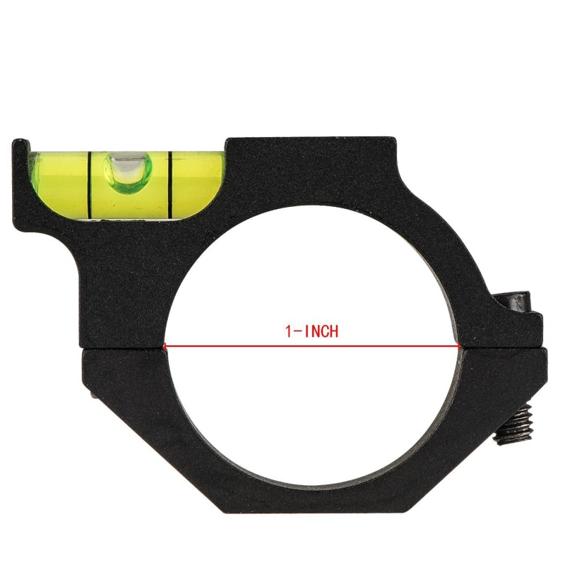 Outdoor Hunting Bubble Level Rifle Scope Fit for 1 inch(25.4mm) Riflescope Tube for Hunting and Shooting Anti-cant Used Newest ...