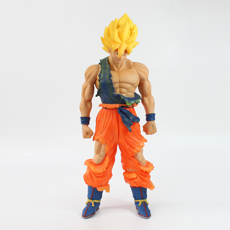 CF Anime Dragon Ball Z Super Master Stars Piece The Son Goku Figure Toy Doll Big Size PVC Action Model Collection Gift for Boys dragon ball z super big size super son goku pvc action figure collectible model toy 28cm kt3936