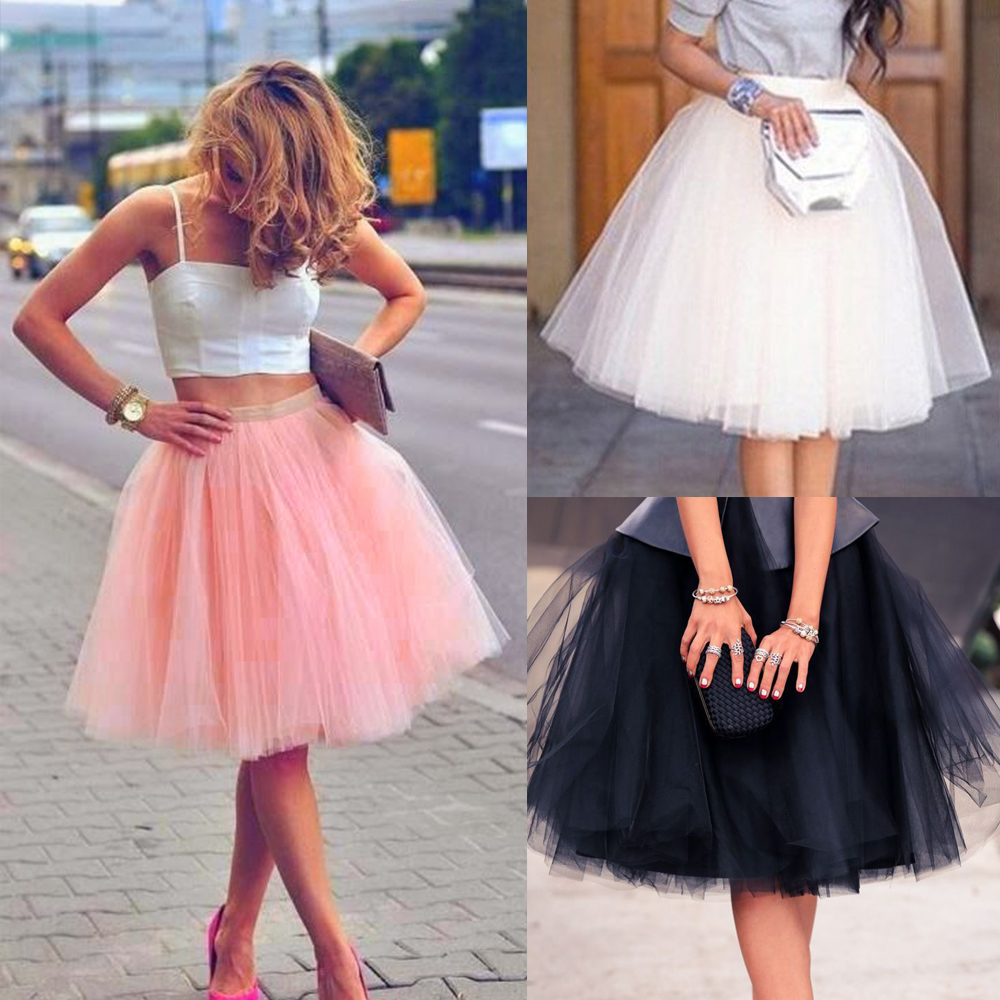 aliexpress buy new puff chiffon tulle skirt