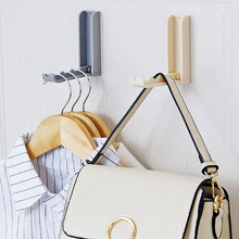 Creative Folding Household Hook Paste Invisible Plastic Wall Hanging Bathroom Kitchen Multi-function