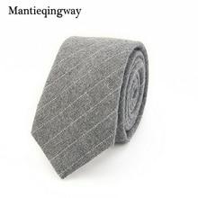 2016 Fashion Casual Cotton Plaid & Striped Mens Ties for Men 6CM Narrow Wedding Business Necktie Fresh Neck Tie Neckwear
