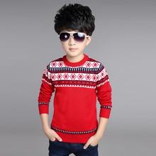 Высокое качество детей Новый Unisex зима осень детские Мультфильм мальчик девочка ребенок свитер ребенка свитер детей свитер свитер