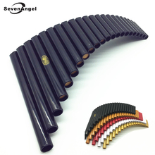 Hot selling PanFlute 22 Pipes ABS Panpipe G Key Right and left hand Handmade Folk Wind Musical Instruments flauta Xiao flute