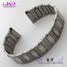 Solid stainless steel bracelet 22 mm steel belt fit men s watch