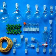30 шт., новая химия Стекло посуда набор, лаборатории Стекло блок, W/24/29 местах соединения