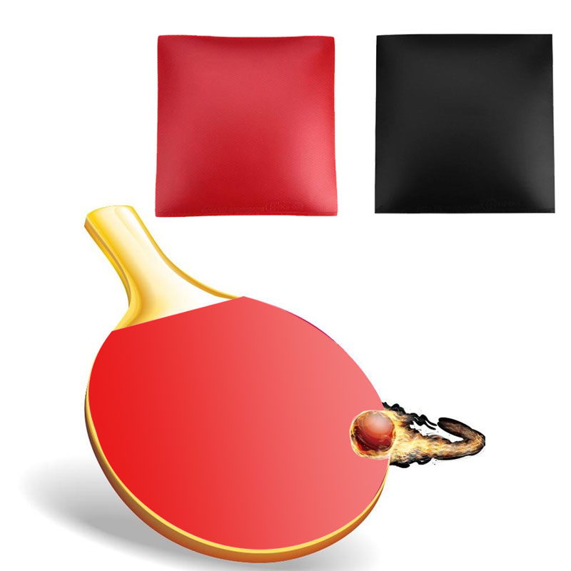 Enthusiastic Table Tennis Pad Sleeve Ping Pong Racket Rubber Red Black Gym Game Tabletennisrubber Gadget Table Tennis Rubber Training Tools To Be Highly Praised And Appreciated By The Consuming Public