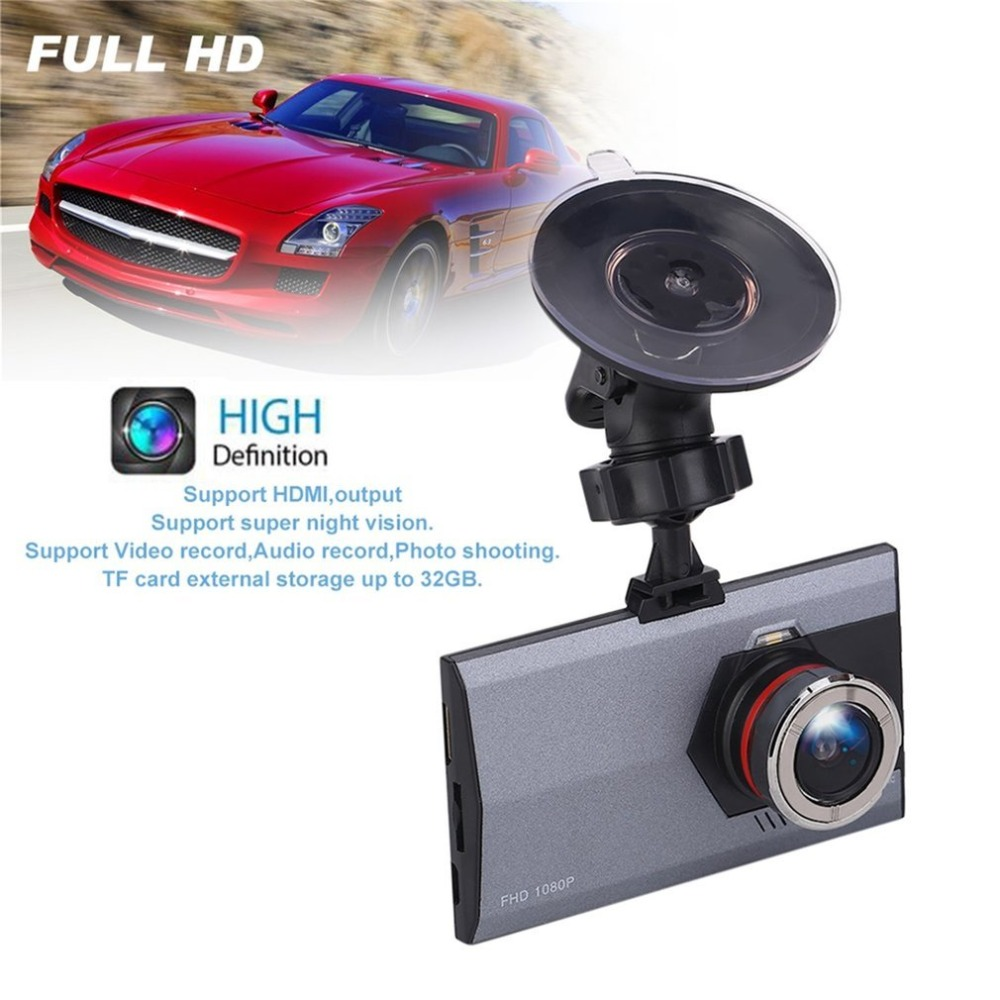 цена New General 1080P 145 Degree LCD Car Camera Vehicle DVR Dash Cam Video Recorder G-Sensor Motion Detection Night Vision Camcorder