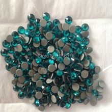 blue zicron color of hot -fix crystal size 2mm with 1440 pcs per pack ss6 ;dmc strass of high quality shiny stone