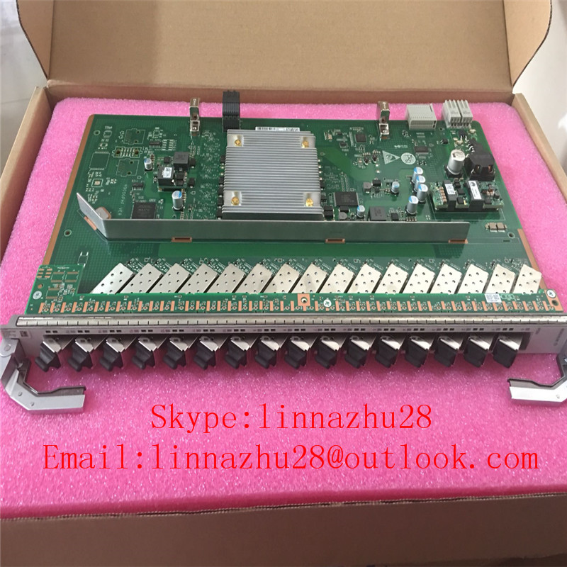 Included Fast Color Hua Wei 16 Ports Gpon Board,for Ma5800 Olt,h901 Gpsf Ge 16 Pcs Sfp Class C