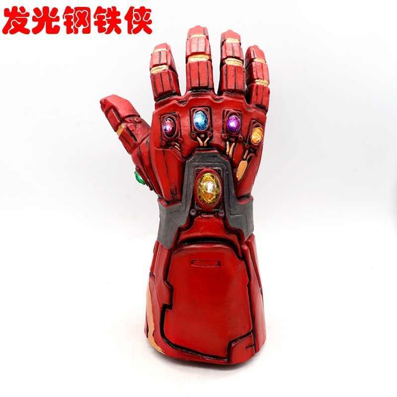 Mới Thoáng Mát Avengers Endgame Siêu Anh Hùng Người Sắt Tony Stark Thanos Vô Cực Đính Đá Cosplay Găng Tay Cao Su Tay Lai Hóa Đạo Cụ