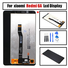 For five.45″ Xiaomi Redmi 6A LCD display show+contact digitizer for Xiaomi Redmi 6A Black free delivery despatched device For Redmi 6A liquid crystal display