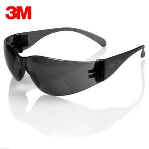Image 2 - 3m 11330 السلامة Potective رمادي نظارات نظارات مكافحة الأشعة فوق البنفسجية نظارات مكافحة الضباب صدمة برهان العمل عيون نظارات حفظ نظر