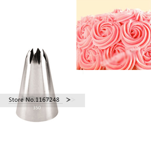 1c Large Size Decorating Tips Icing Piping Nozzles Cake Diy Decorating Sugarcraft Pastry Tip Tool