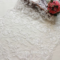 Wedding Dress Lace Decoration Fabric Three Dimensional Flower Beading Handmade Diy Material Embroidery Accessories RS1239