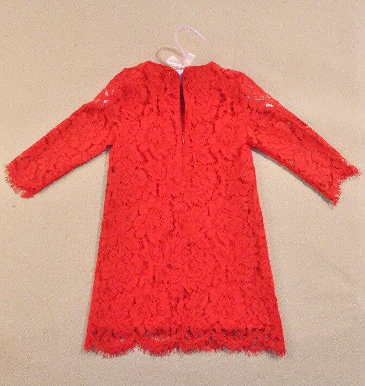 ba33213a2 Cute girls red black dresses baby girls party dress summer ...