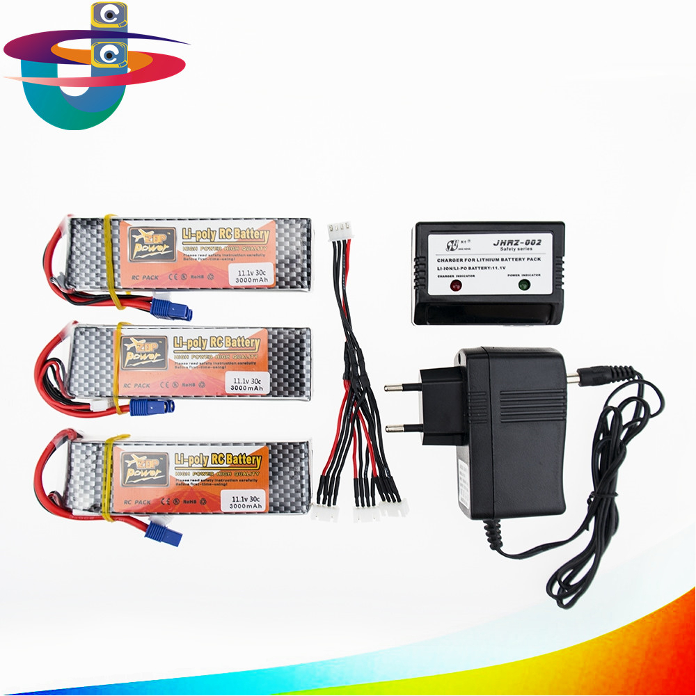 lipo 3s battery 3s 11.1V 3000mAh 35C RC LiPo batteria for FPV helicopters Quadcopter rc car airplane