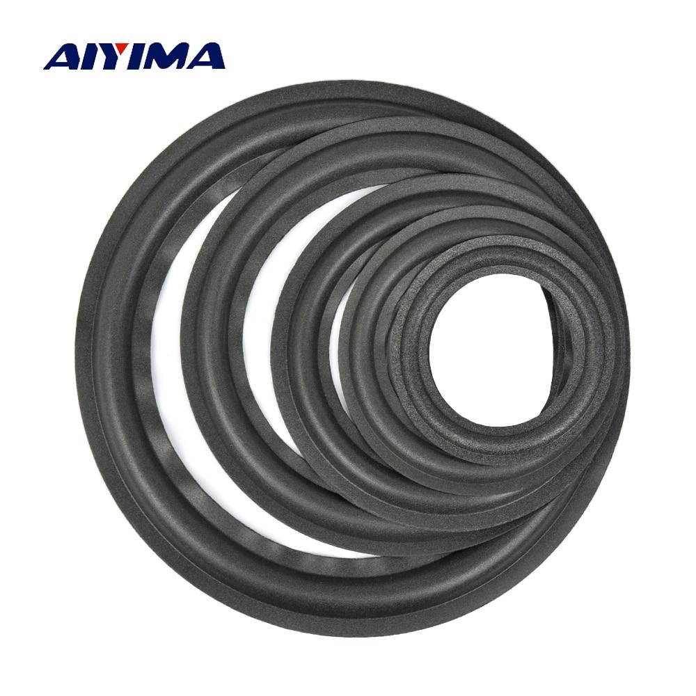 Aiyima 2PC 4/5 /6.5 / 8/10 Inch Speaker Foam Edge Folding Edge Audio Speaker Repair Accessories DIY