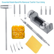 Watch Band Tool Kit - Watch Link Remover Spring Bar Tool Set for Watch Repair and Watch Band Replacement free shipping 1 set blue watch bezel dies for watches 10pcs die kit watch repair tool kit works with bergeon 5500a c