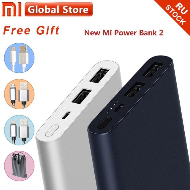 Xiao mi запасные аккумуляторы для телефонов mi 10000 мАч 2i двойной Портативное зарядное usb-устройство Быстрая зарядка 18 Вт внешний батарея для Android и IOS Телефон