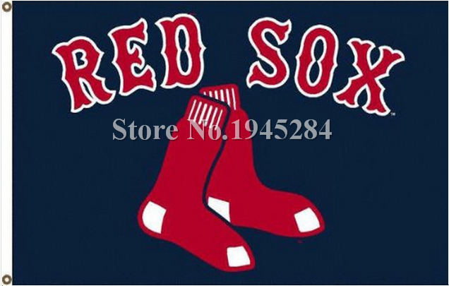 MLB Boston Red Sox Flag New 3x5ft 90x150cm Polyester Flag Banner 7024, free shipping
