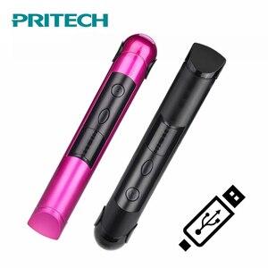 Image 5 - PRITECH Portatile di Ricarica USB Professionale Mini Raddrizzatore Dei Capelli Display A LED Senza Fili di Ferro Piano Dei Capelli Capelli Strumento Chapinha