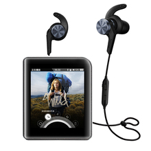 Shanling xiaomi m1 + 1 más ibfree set portátil reproductor de música bluetooth deporte auricular mic headset dap dsd lossless mp3