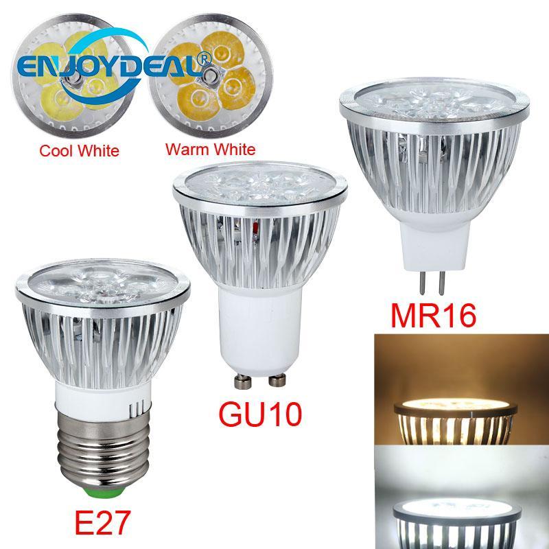 1Pc E27 GU10 MR16 9W LED Lamp Light Bulb Home Bedroom ...